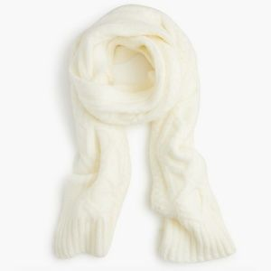 J.CREW | Loopy Stitch Oversized Cable Knit Scarf